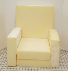 Sew Can Do: Choose Your Flair Custom Chair Tutorial  Pattern and instructions for making a child's foam chair.