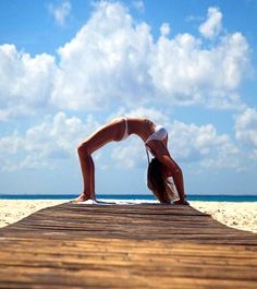 Seeing the world from a different perspective... #fitness #beach #pinterest