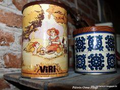Tin Boxes, Pillar Candles, Finland, Retro Vintage, Nostalgia, Kid, Memories, Traditional, Mugs