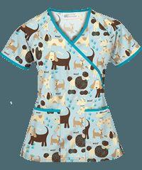 Animal Print Scrubs, Animal Scrubs, and Veterinary Scrubs at UA Vet Tech Scrubs, Medical Scrubs, Veterinarian Scrubs, Stylish Scrubs, Vet Assistant, Scrubs Outfit, Medical Uniforms, Uniform Shirts, Scrub Tops