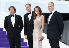 Kate Middleton Photos Photos - (L) Arpad Busson, Catherine, Duchess of Cambridge and Prince William, Duke of Cambridge arrive at the ARK 10th Anniversary Gala Dinner at Perk's Field on June 9, 2011 in London, England. - ARK 10th Anniversary Gala Dinner
