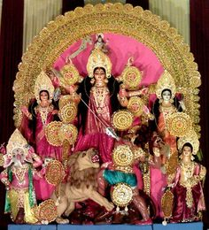 Durga Puja - the ceremonial worship of the mother goddess, is one of the most important festivals of India. Who performed the first autumnal Puja? When and where did Hindus start celebrating Durga Puja on a mass scale? How did the 'pratima' and the 'pandal' evolve over the years? Find out...