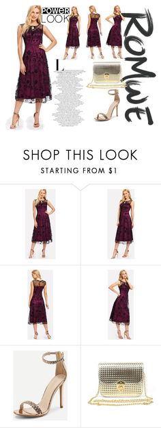 """""""ROMWE: power look"""" by armina-saric ❤ liked on Polyvore"""