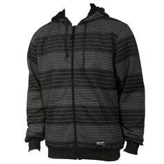Rip Curl Mens Sweatshirt Dawn Patrol Stripe Black
