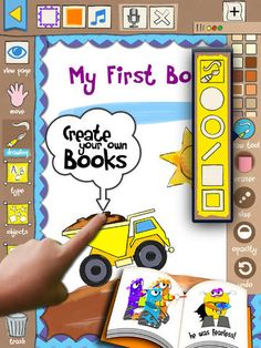 Story Book Maker - I would strongly suggest this app for the younger grade levels. This is a fun way to get students to tell stories or use words they just learned and a write a short book about it. This is a great app to help students learn spelling, art, and language. This is an app mainly for students but teachers could also use it too and have a pretty fun time with it.