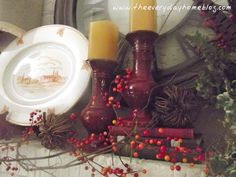 Fall Mantle {mantel}-from The Everyday Home