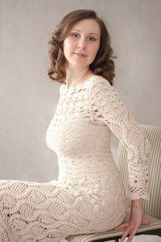 CROCHET FASHION TRENDS  exclusive crochet dress by LecrochetArt