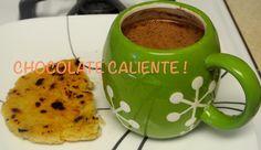 CHOCOLATE CALIENTE CON AREPA COLOMBIANA