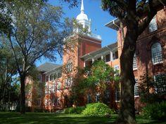 The beautiful Stetson University in Deland, Florida.