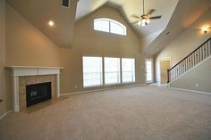 Open Living Room Space In The Monte Carlo Model In Tampa
