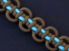 How to Make a Cascading Water Bar (Paracord) Bracelet by TIAT
