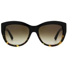Bobbi Brown The Grace Women's Sunglasses (1.065 HRK) ❤ liked on Polyvore featuring accessories, eyewear, sunglasses, black, acetate sunglasses, acetate glasses, black sunglasses, black glasses and bobbi brown cosmetics