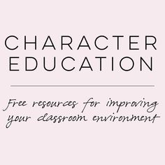 """Character education. Just one of the many """"things"""" that has gone by the  wayside in this day of testing. It was once important to carve time into  daily or weekly plans to teach children how to be good citizens and members  of a community. I remember such lessons when I was in school. Now to those  who make curricular and financial decisions - if it isn't tested, it isn't  important. Teachers know differently and try their best to incorporate  character ed topics into other lessons using…"""