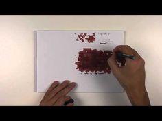 Как нарисовать кирпич. Vol. 1. Кирпичная кладка. - YouTube
