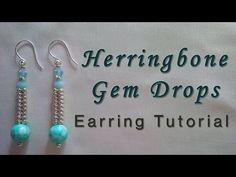 Beading Techniques and tips #2: Setting a Rivoli with Herringbone - YouTube