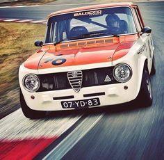 Alfa Romeo Giulia 1600 TI Super Quadrifoglio Alleggerita #alfaromeoquadrifoglio