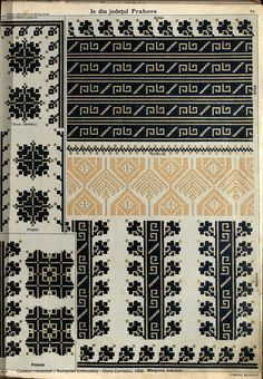 Folk Embroidery, Embroidery Fashion, Beaded Embroidery, Cross Stitch Embroidery, Embroidery Patterns, Palestinian Embroidery, Crochet Fall, Canvas Designs, Knitting Charts