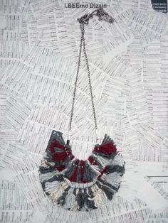#ibeemedesign #handmade #woolnecklaces Crochet Earrings, Necklaces, Wool, Handmade, Jewelry, Design, Jewellery Making, Chain, Jewelery
