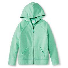 Girls' Hoodie Sweatshirt Green