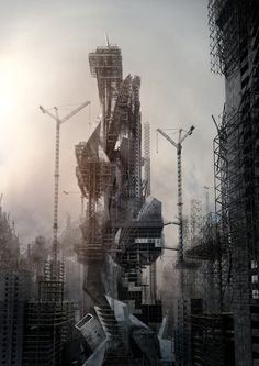 From dystopia to utopia | Fanciful Megalomania by Jonathan Gales via dpr-barcelona  The film project Fanciful Megalomania is described by it...