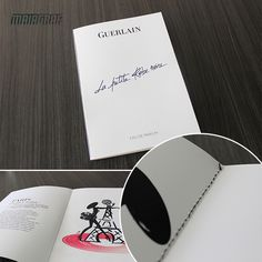A Guerlain do grupo Louis Vuitton, precisava de uma peça com acabamento primoroso e qualidade de impressão impecável. Com todo cuidado, foi impresso um folder em papel especial e com costura diferenciada, que reflete a sofisticação da marca no material de distribuição. #Maiagraf #Guerlain #LouisVuitton #Sofisticado