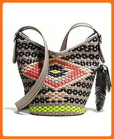 Coach Mini Multicolor Woven Crossbody Bag (Dreamweaver) - Crossbody bags (*Amazon Partner-Link)