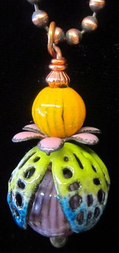 Happy Pendant=Love this because it is so colorful.  Happy Pendant is great name.
