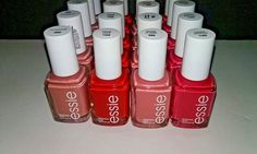 20 ESSIE Wholesale Nail Polish Petal PINK MIXED baby bridal shower party favor  #Essie