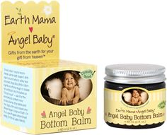 Earth Mama Bottom Balm - Rated 0 EWG's SkinDeep which means it's safe.  Desitin is a 5.  That's not good!