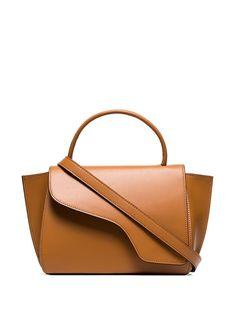 Atp Atelier Volterra shoulder bag - Brown Leather Shoulder Bag, Shoulder Strap, Shoulder Bags, All Tomorrow's Parties, Brown Fashion, Brown Leather, Kate Spade, Women Wear, Purses