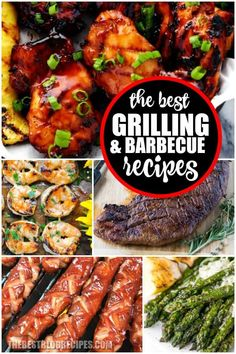 For Summer, you need the Best BBQ/Grilling Recipes to serve to your friends and family. Trust when we say there is nothing more addicting than the barbecue flavors of these grilled recipes. Best Gluten Free Recipes, Healthy Recipes, Appetizer Recipes, Dinner Recipes, Appetizers, Tailgate Food, Incredible Recipes, Family Trust, Barbecue Recipes