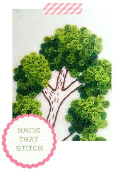 Mystery Stitch   Bindel Bird   This is a Peking/Chinese Knot. Makes a great filler for trees. jwt