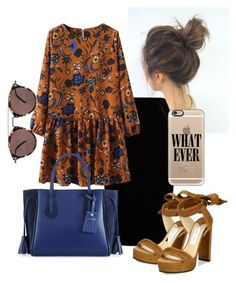 """""""fall"""" by amazingbrielle on Polyvore featuring Jupe By Jackie, Jimmy Choo, Longchamp, Oliver Peoples, Casetify and Modest"""