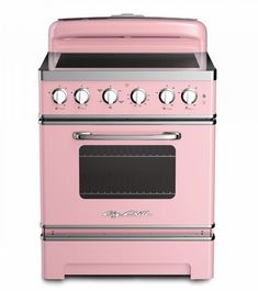 "30"" Retro Electric Induction Range 