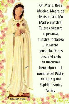 Catholic Prayers, Catholic Saints, Our Lady Of Lourdes, Mary And Jesus, God Prayer, Mother Mary, Virgin Mary, Santa Maria, Gods Love