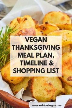 Use my Vegan Thanksgiving Dinner Menu (Meal Plan), Shopping List and Time-line for an easy, stress-free Thanksgiving. Just print it out, shop amp; it step by step. Easy Thanksgiving Dinner, Vegetarian Thanksgiving, Thanksgiving Recipes, Holiday Recipes, Holiday Meals, Christmas Desserts, Fall Recipes, Holiday Fun, Festive