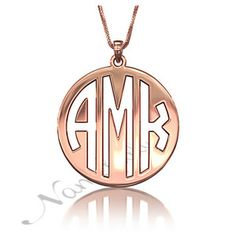 Rose Gold-plated Silver 27mm Airplane Pendant