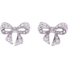 135d8f559f12cf Ted Baker Pave Small Bow Earrings... so pretty. Cath Kidston