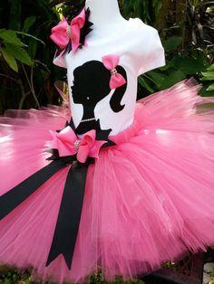 Girls tutu Barbie by Partyadvantage Barbie Party Decorations, Barbie Theme Party, Barbie Birthday Cake, Birthday Tutu, Girl Birthday, Party Themes, 13th Birthday Parties, Pink Tutu, Party Stores