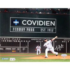 Jon Lester Signed Pitching Green Monster Background Horizontal 8x10 Photo (MLB Auth) - Red Sox Ace Jon Lester personally hand-signed this 8x10 Photo of him pitching in the 2013 World Series. Lester is the most dominant Red Sox playoff pitcher since Babe Ruth and collected two wins during the 2013 World Series against the Cardinals with a dazzling .59 ERA. Lester is one of best pitchers in the game and truly shines in October. This Jon Lester autograph is guaranteed authentic and includes a…