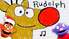 RUDOLPH THE RED-NOSED REINDEER♫ | Christmas Carol | Kids Songs | Pancake...
