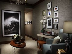 Showhouse Gallery • Grasscloth Wallpaper • Natural Wallcoverings • Phillip Jeffries Ltd.