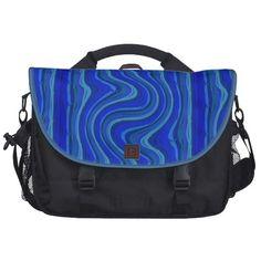 Tasche die Welle  blau Laptoptaschen