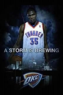 OKC Thunder ...A storm is Brewing!