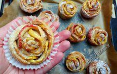 Bez Pszenicy: Drożdżowe róże z jabłek (żytnie)