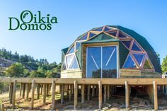 6-2 Geodesic Dome Homes, Quonset Hut, Apartment Goals, Dome House, Earthship, Tiny House, Building A House, Gazebo, Construction