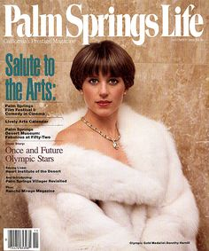 Palm Springs Life magazine November 1989   Young Dorothy Hamill photographed by Dick Zimmerman Short Thin Hair, Short Pixie, Short Hair Styles, Short Wedge Hairstyles, Fine Hairstyles, Dorothy Hamill Haircut, Palm Springs Film Festival, Rihanna Makeup, Wedge Haircut
