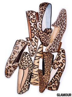 Leopard loafers!!!