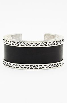 Cool jewelry to add to today's outfit #My Day in Stich Fix - Pin to Win Contest Lois Hill Medium Leather & Sterling Silver Cuff