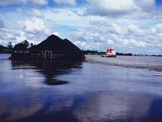 batubara transhipment tugboat and tongkang